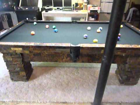 Custom Stone And Copper Pool Tables How To Pool Table