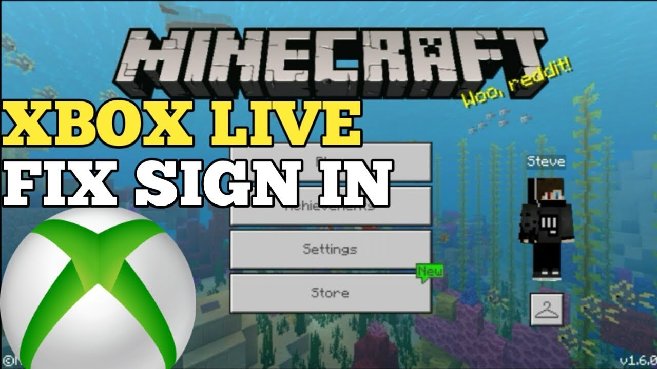 minecraft sign in xbox live apk
