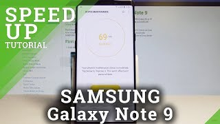 How to Speed Up SAMSUNG Galaxy Note 9 - Optimization / Clean Junk Files / Boost System