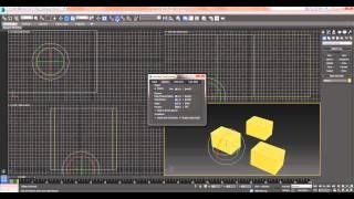 Перемещение, Вращение, Масштаб - Урок 3D Max - Бесплатный курс Быстрый старт в 3Ds Max (день #2)