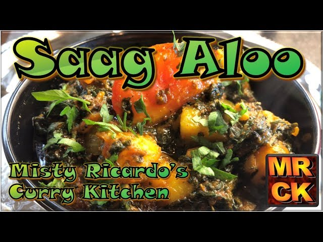 How to make Saag Aloo (Indian Restaurant Style)