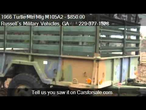 1966 Turtle Mtn Mfg M105A2  for sale in Cairo, GA 39827 at t
