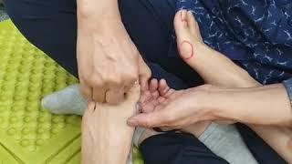 발에관한 현장강의  실기와 이론 ㅡ신원범교수