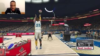 THE CPU CHEATS DURING MY 3 POINT CONTEST VS STEPHEN CURRY! PLUS I GET INJURED AFTERWARDS!! WTF!