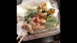 Crispy tempura