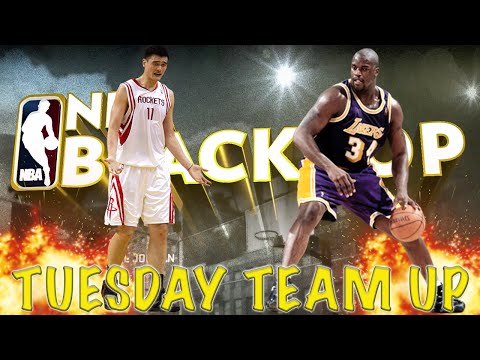 NBA 2K16 Blacktop - Yao Ming Vs Shaq!!!