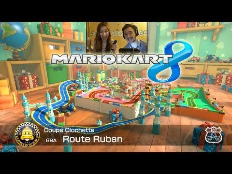 Mario Kart 8 NOUVEAU DLC ! Circuit Animal Crossing en face cam et couple !
