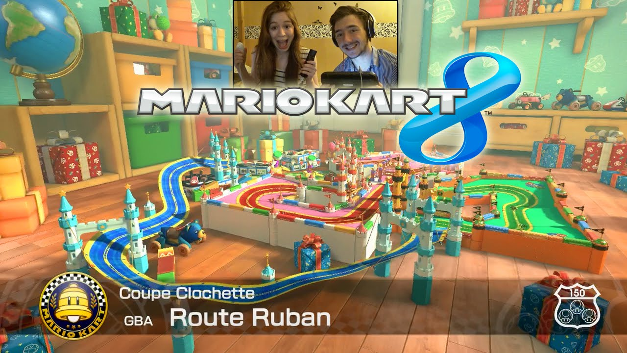 mario kart 8 nouveau dlc circuit animal crossing en face cam et couple youtube. Black Bedroom Furniture Sets. Home Design Ideas