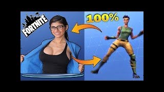 TOP 57 DANCES OF FORTNITE IN REAL LIFE PT BR! Fortnite Funny Moments! Fortnite Highlights