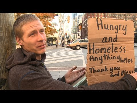 Homeless React to 10-Year Promise to End Homelessness