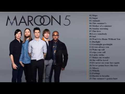 รวมเพลง maroon 5 เพราะๆ ฟังเพลงสากลฮิตติดชาร์ต2559 เพลงใหม่ล่าสุดเดือนนี้