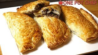Beef and Mushroom Hand Pies   One Pot Chef