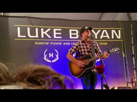 Luke Bryan, Hartford CT, 2017, VIP