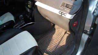 Замена салонного фильтра / Opel Astra H