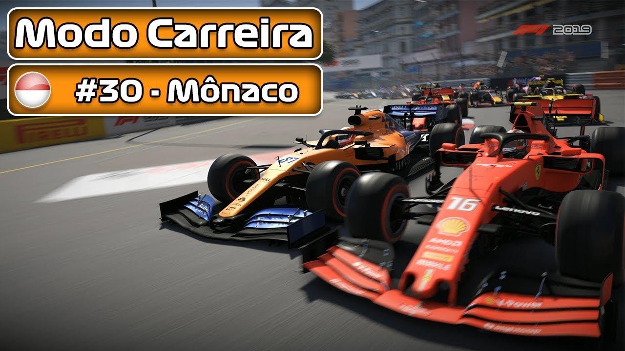 F1 2019 - MODO CARREIRA - PARTE 030 - MÔNACO - PT-BR | LOGITECH G29 | #50k