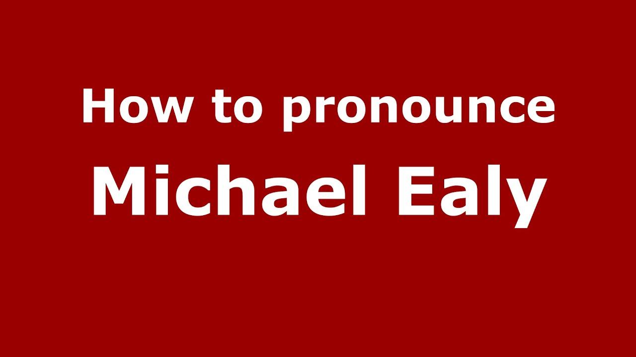How to pronounce Michael Ealy (American English/US) - PronounceNames com