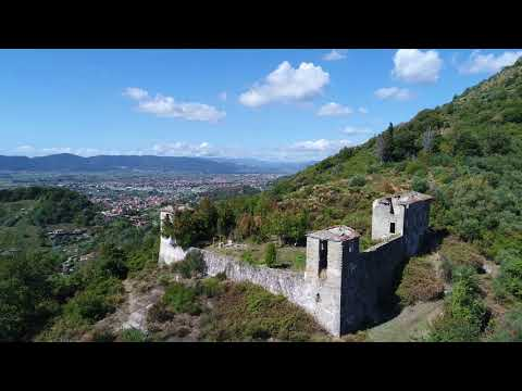 Castelletti o Palazzetti (Carrara) with PHANTOM 4 PRO 4K video
