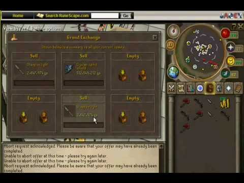 Runescape 07 trading system
