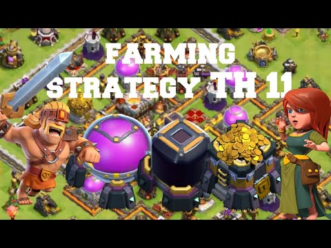 SUPER BARBARIANS Farming Attack Strategy 2020 |Clash of Clans| #1