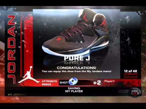 441a28f70b8 ... NBA 2K11 Jordan Air Pure J Shoes and New Logo Review - YouTu ...
