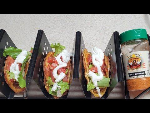 taco-tuesday-chaffle-flavor-god-dash-mini-waffle-maker