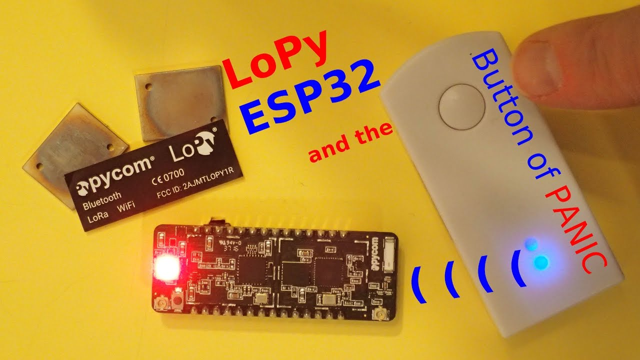 #11 ESP32 and the Button of __P_A_N_I_C__