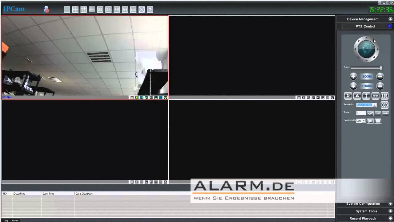 IP-Kamera Software Kurzeinführung Device Viewer - YouTube