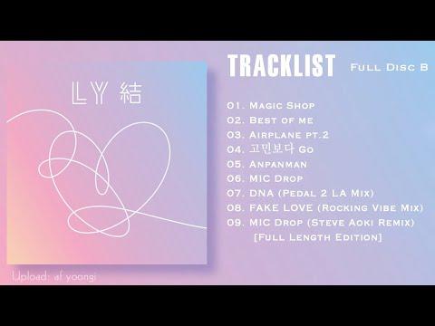 BTS Unveils Tracklist for 'Love Yourself: Answer' Album ...