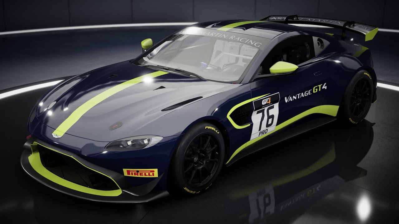 Assetto Corsa Competizione GT4 Pack DLC: Introducing the Aston Martin V8 Vantage GT4