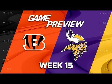 Cincinnati Bengals vs. Minnesota Vikings | NFL Week 15 Game Preview | NFL Playbook