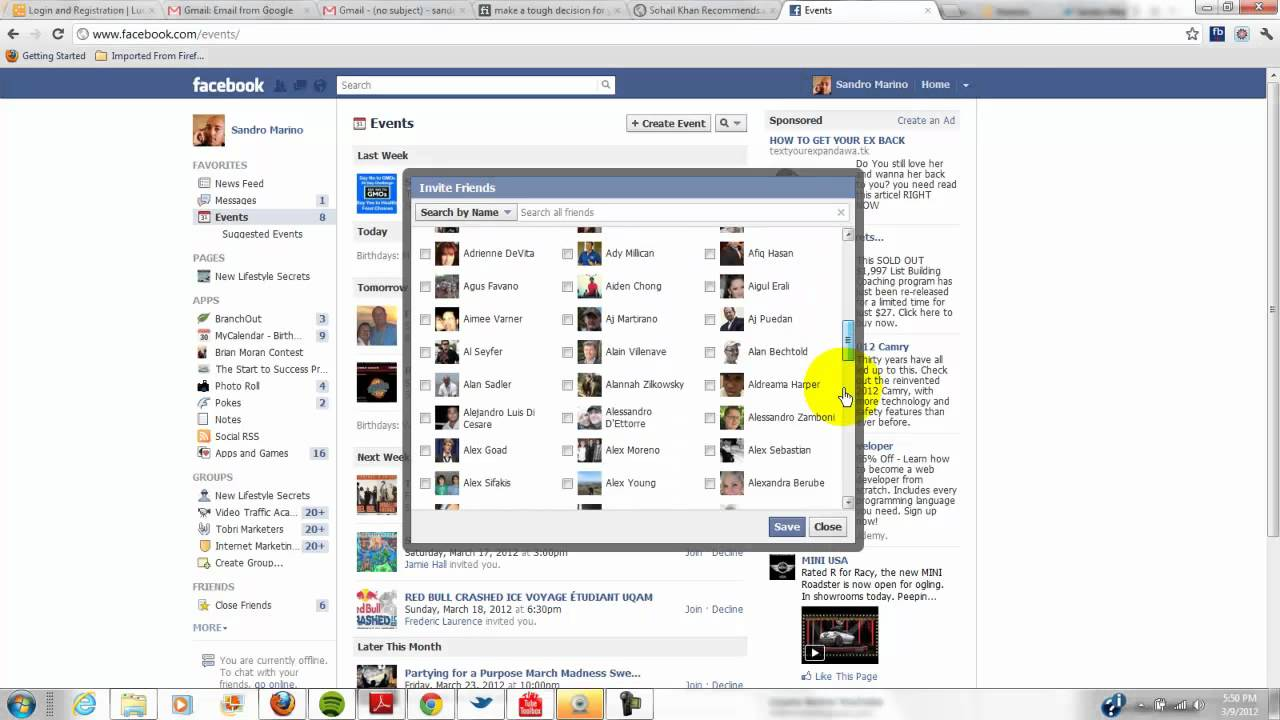How To Invite All Friends on Facebook with Chrome App