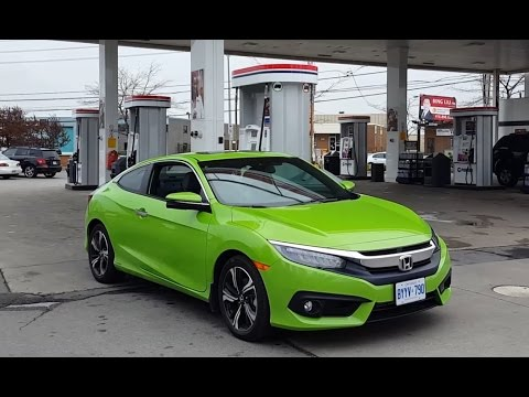 2018 Honda Civic Coupe   Fuel Economy Review + Fill Up Costs