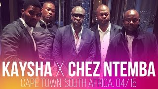 Kaysha x Chez Ntemba, Cape Town, South Africa. Apr. 2015