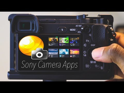 How to install Apps on Sony cameras