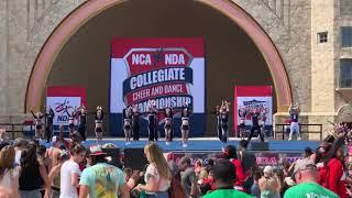 Weber State University 2019 NCA/NDA Cheer Comp Video