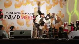 Юбилейный концерт в честь 10 летия компании «BRAVO мебель»