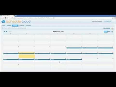 Schedule-Cloud Employee Portal Tutorial