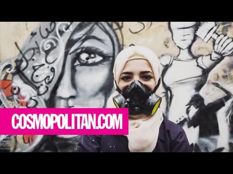 A Refugee Uses Street Art to Change the World | Cosmopolitan