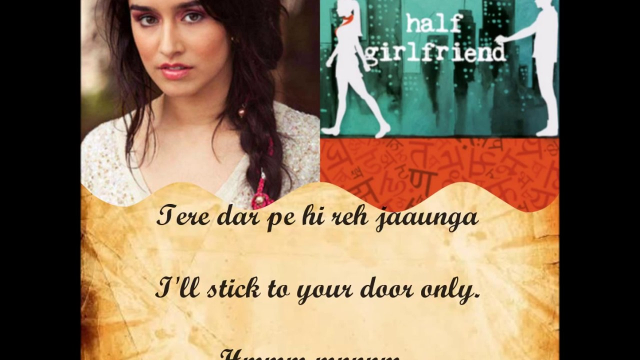 Main Phir bhi tumko chahunga | Half girlfriend | *full song