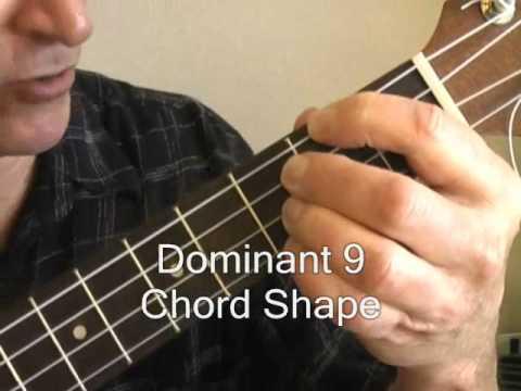 Blues Ukulele Jazz Chord Lesson 1 Youtube
