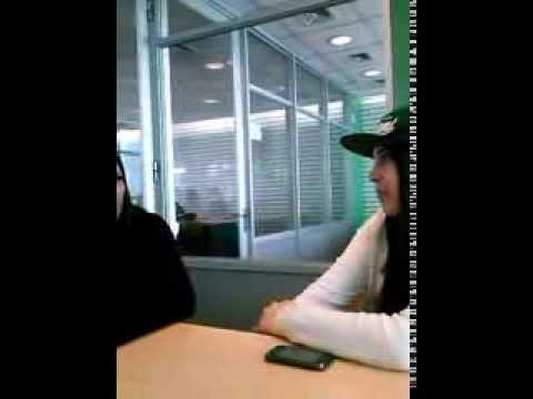 Interview to a tennis player, Constanza e Isidora