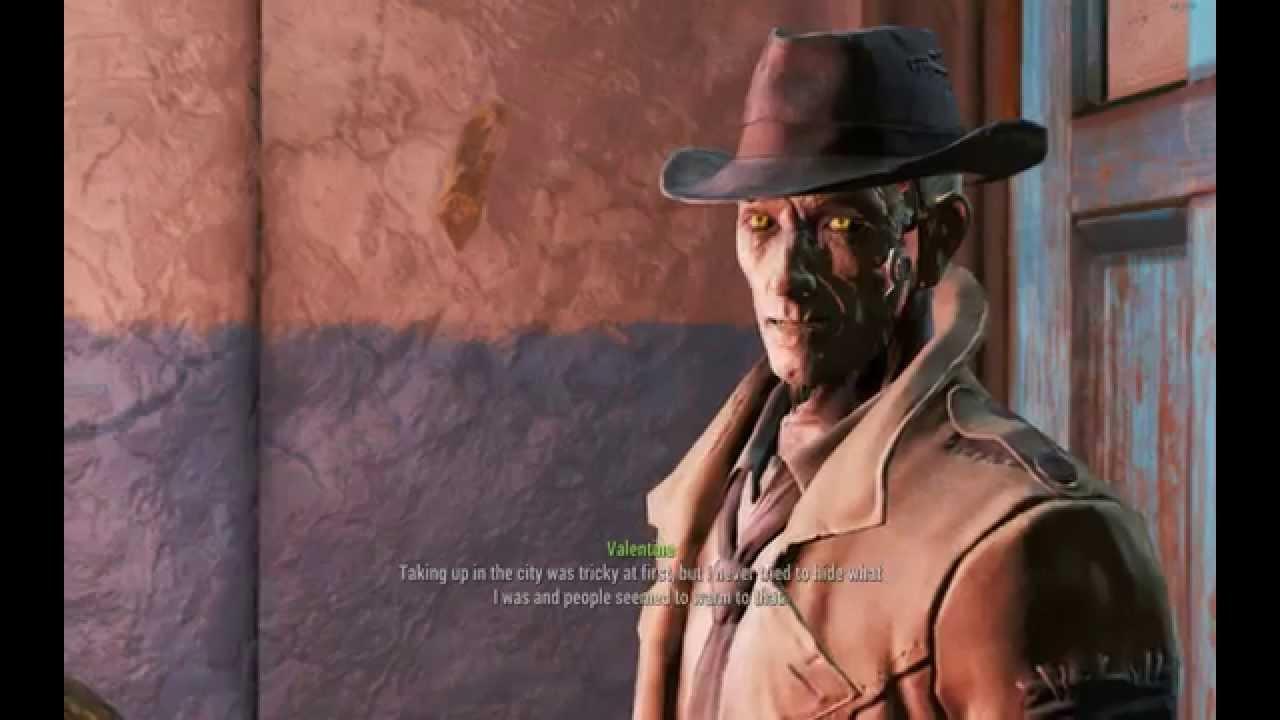 Fallout 4 Nick Valentine Beep Beep Beep YouTube