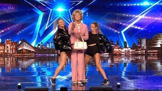 Britain's Got Talent 2019 Sheila Simmonds Full Audition S13E02