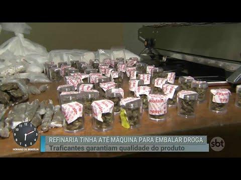 Polícia encontra duas refinarias de drogas na mesma rua em SP | Primeiro Impacto (05/09/18)