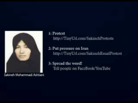 Stop the Execution of Sakineh Mohammadi Ashtiani