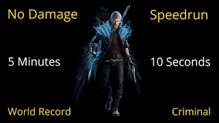 DMC 5: Nero vs All Bloody Palace Bosses | World Record Speedrun