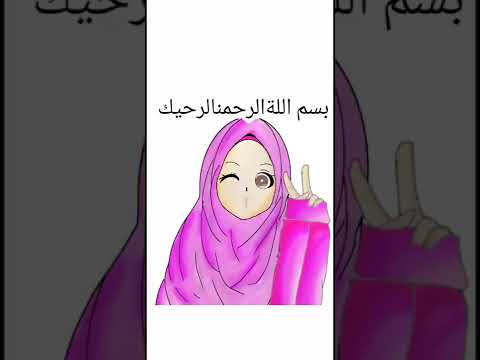 gambar-wanita-muslimah-,,dengan-ibis-paint-x👈🏻