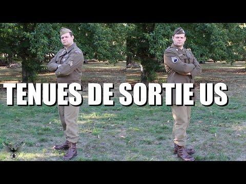 Tenues de sortie US - Présentation d'uniforme