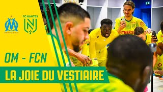 VIDEO: OM - FC Nantes : la joie du vestiaire