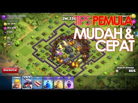 Clash of Clan | Tips Trick Quick Easy | Cepat dan Keren untuk Pemula ( Indonesia )